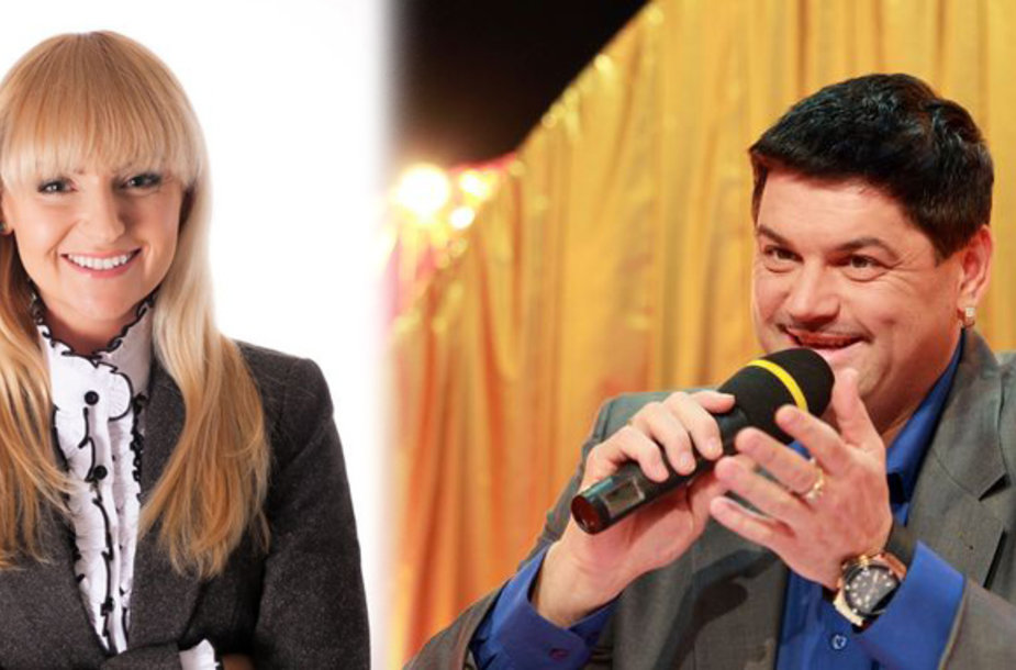 Vitalijus Cololo ir psichologė Marija Vaštakė