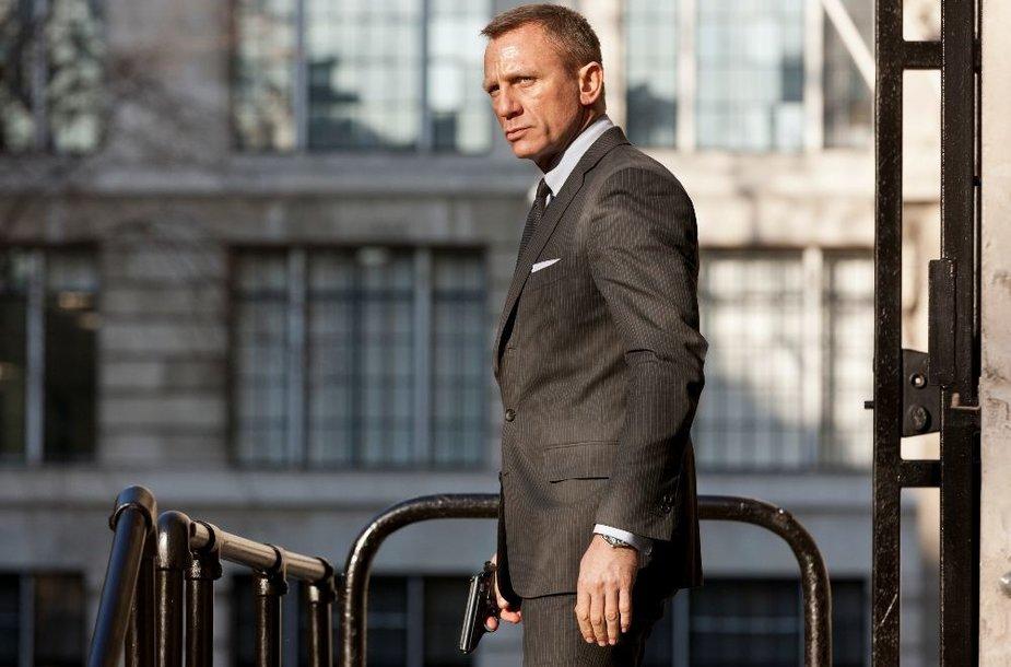 Džeimsą Bondą vaidinantis Danielis Craigas
