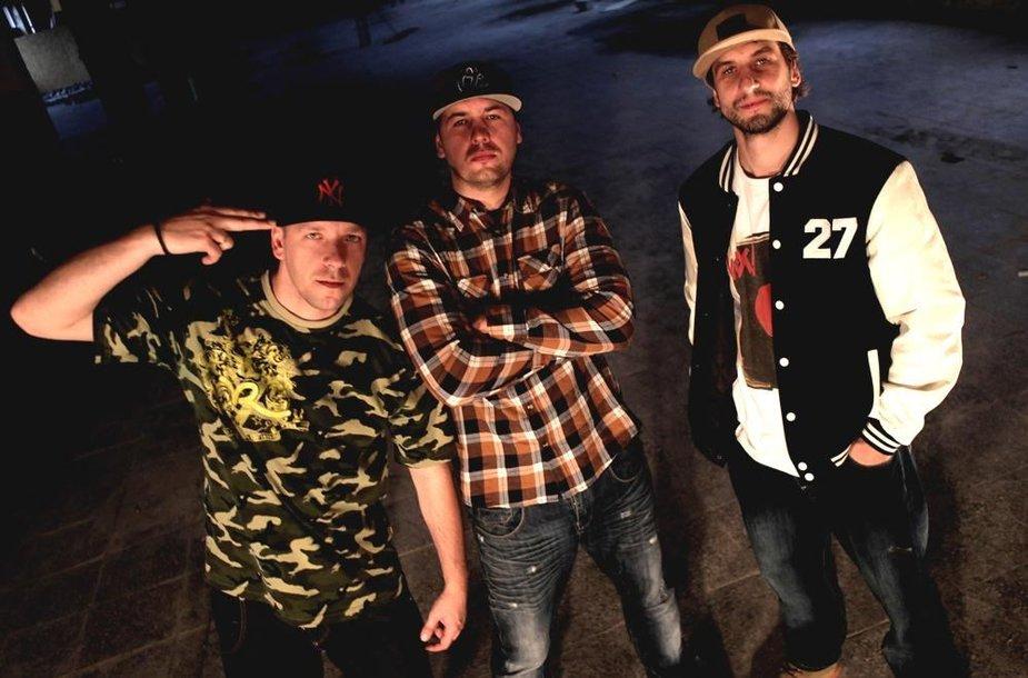Iš kairės: Broo, Yga ir Pushaz