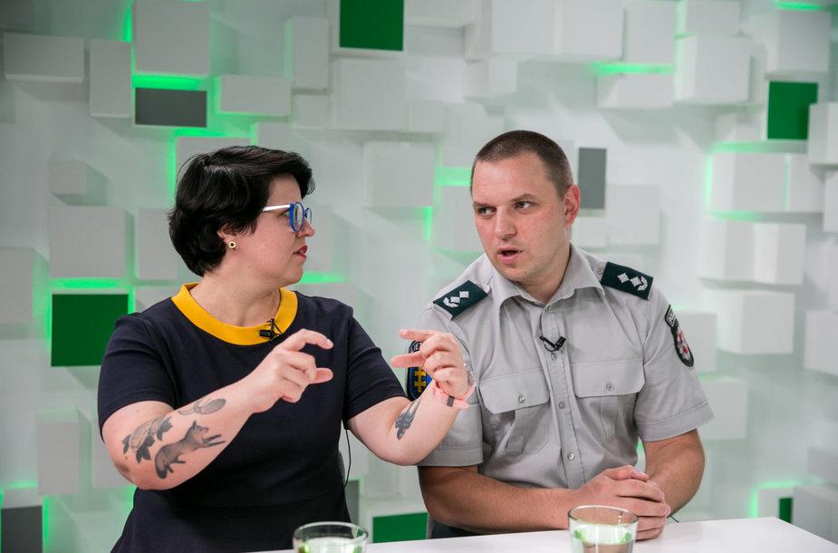 Viktorija Urbonaitė ir Mindaugas Akelaitis