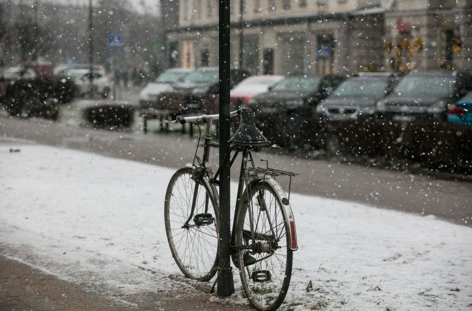 Naujųjų metų rytas Vilniuje