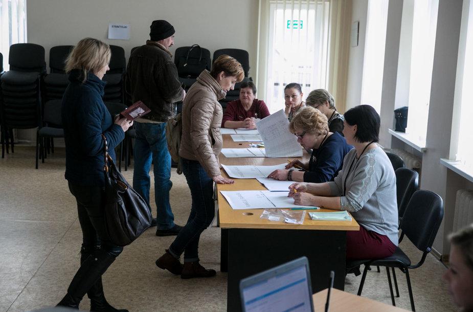 Antrasis merų rinkimų turas Trakų rajone