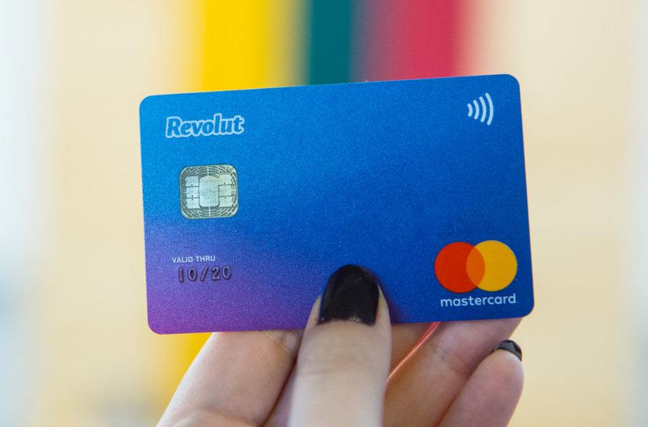"""Revolut"" mokėjimo kortelė"