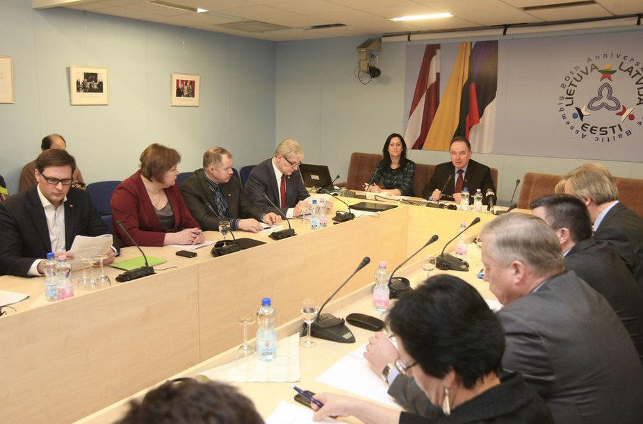 Laikinosios komisijos posėdis