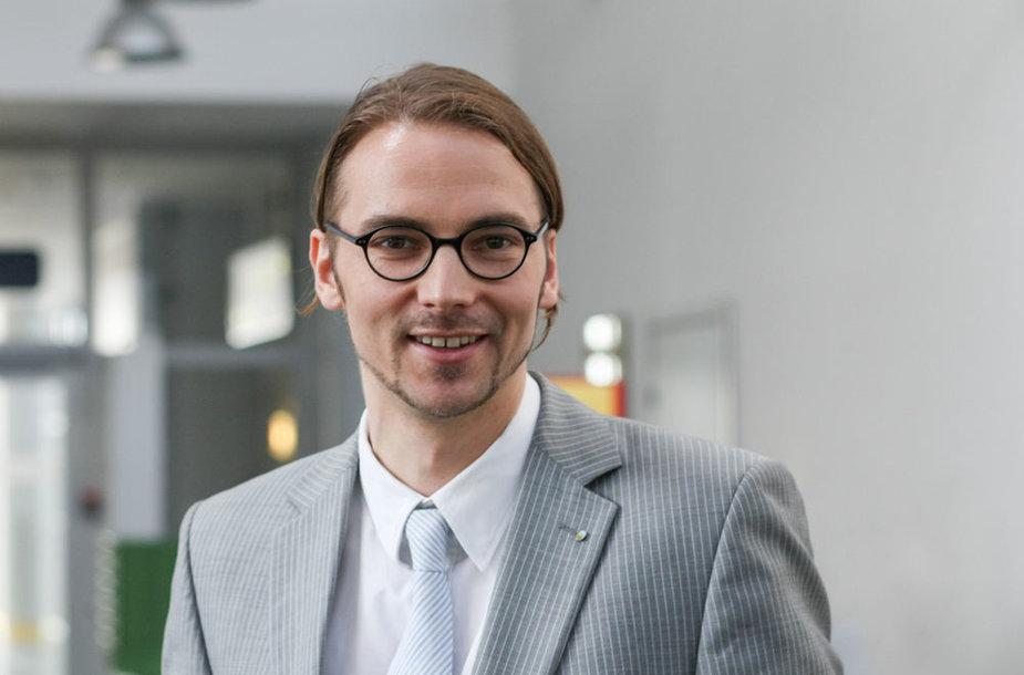 Vilniaus oro uosto generalinis direktorius Gediminas Almantas