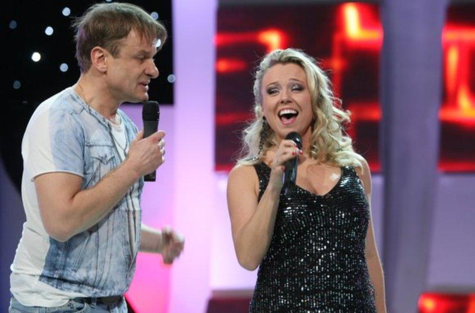 Gintaras Mikalauskas ir Violeta Tarasovienė