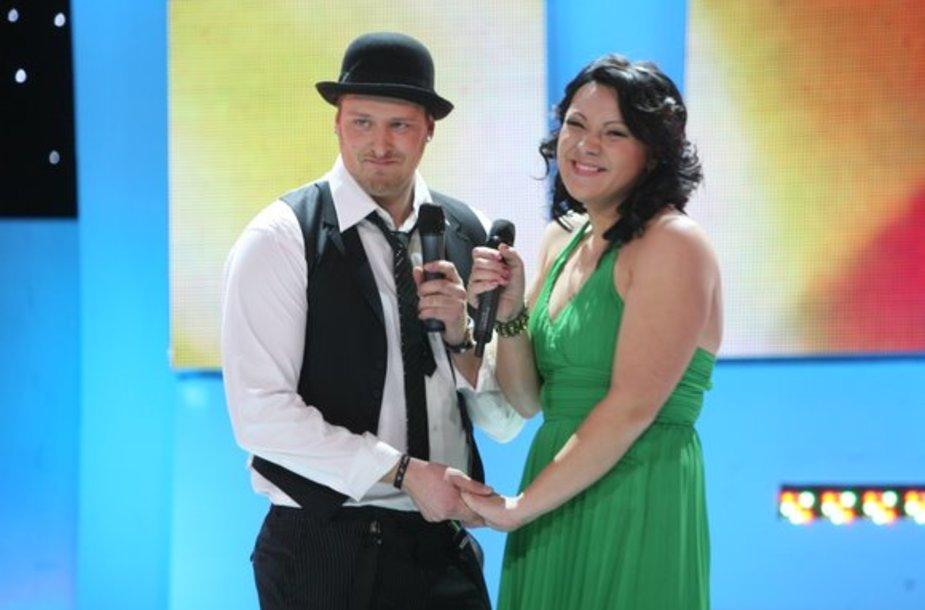 Vilius Tarasovas ir Giedrė Balutytė