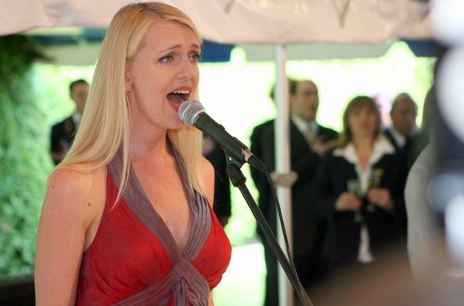 JAV nepriklausomybės dienos proga Amerikos rezidencijoje surengtas svečių priėmimas