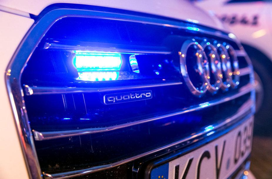 Naujo dizaino tarnybinių policijos automobilių pristatymas