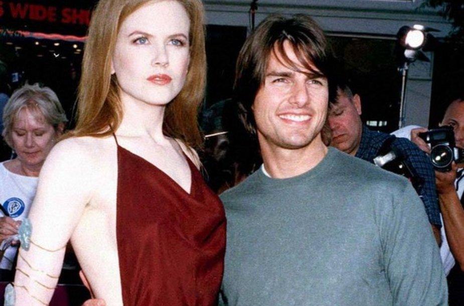 Nicole Kidman ir Tomas Cruise'as
