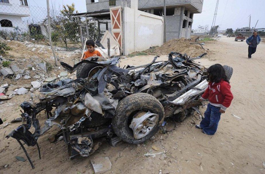 Gyvenimas Gazos ruože