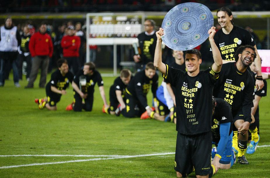 """""""Borussia"""" futbolininkų triumfas."""