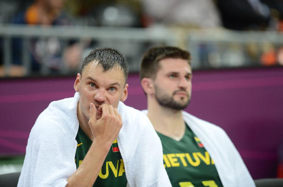 Šarūnas Jasikevičius ir Linas Kleiza