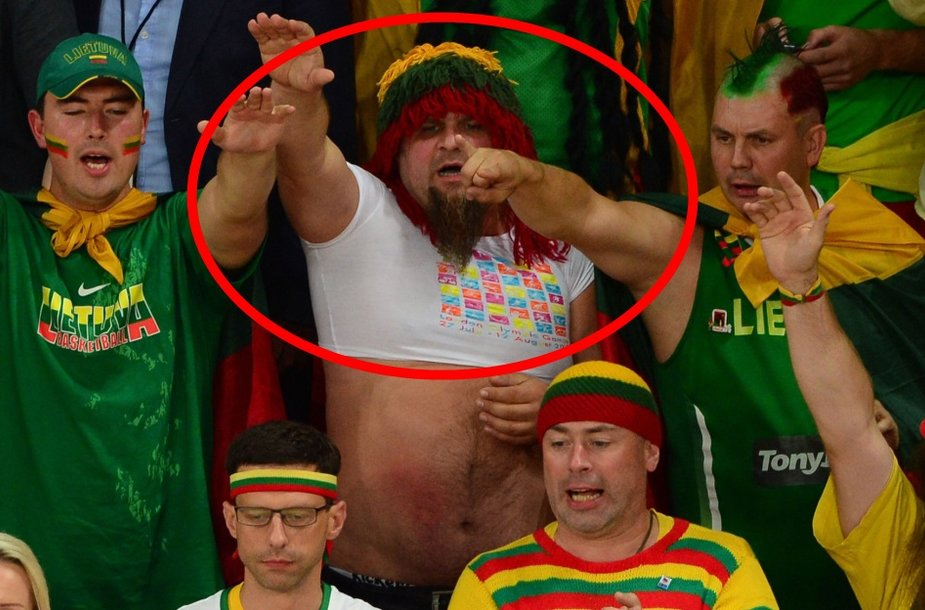 Petras Leščinskas tapo pirmuoju, nuteistu už sunkų rasistinį išpuolį Londono olimpinėse žaidynėse.