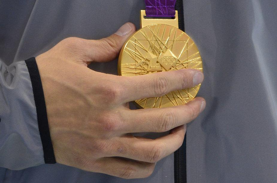 Londono olimpinių žaidynių aukso medalis.