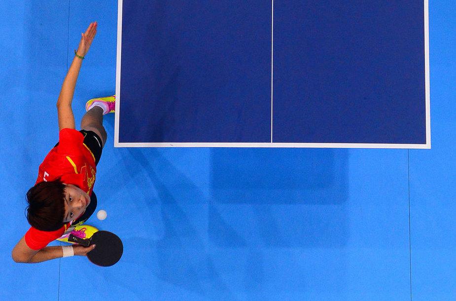 Olimpinė čempionė Xiaoxiao Li