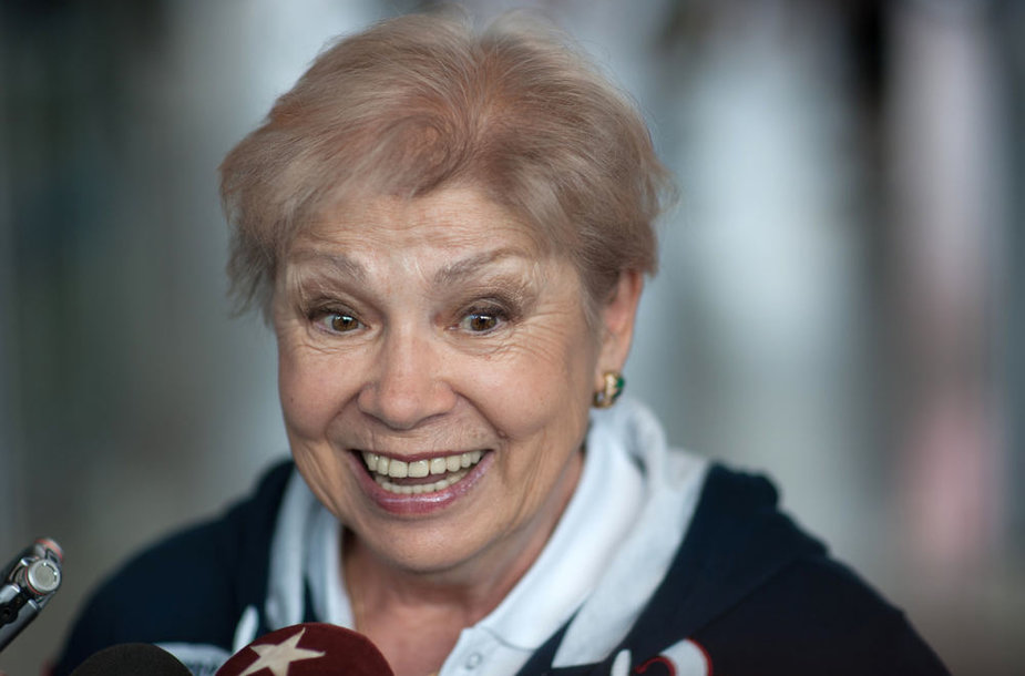 Legendinė gimnastė Larisa Latynina