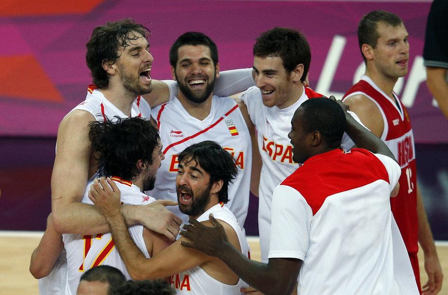 Ispanijos krepšinio rinktinė sužavėjo šalies žiniasklaidą pergale pusfinalyje prieš Rusiją.