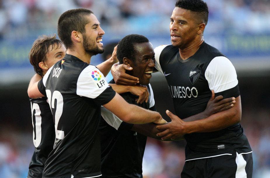 """""""Malaga"""" į Ispanijos čempionatą sugrįžo pergalingai."""