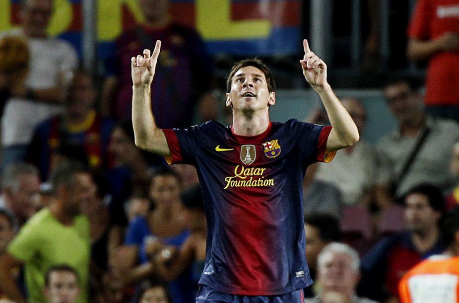 Lionelis Messi sezoną pradėjo dviem įvarčiais.