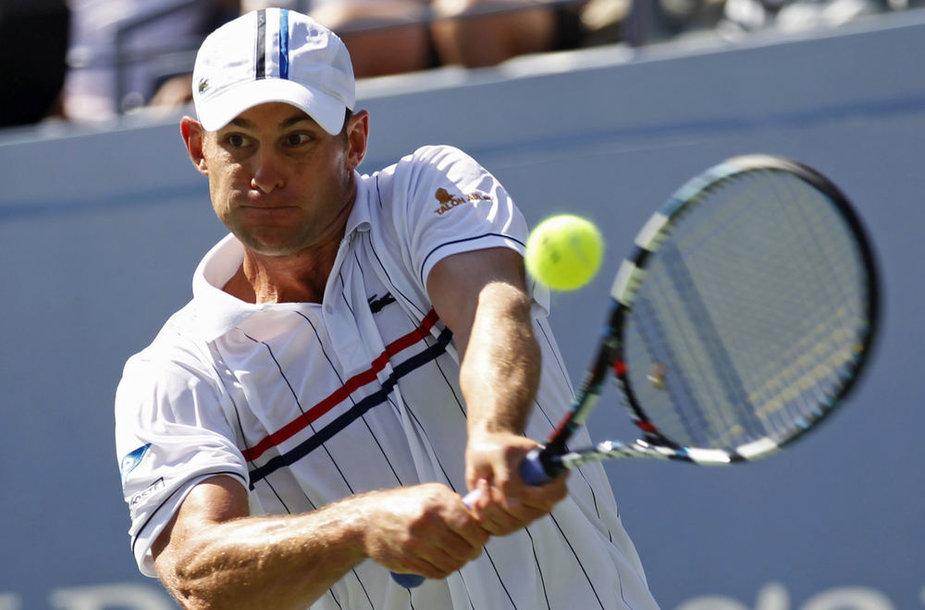 Andy Roddicką sustabdė traumos.