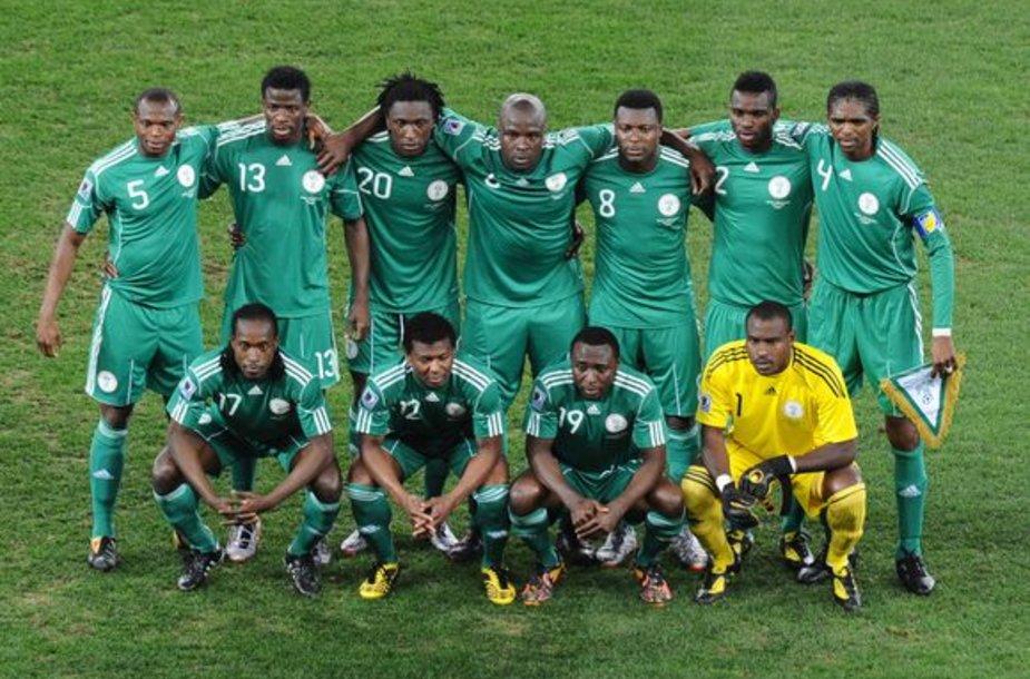 Nigerijos rinktinė