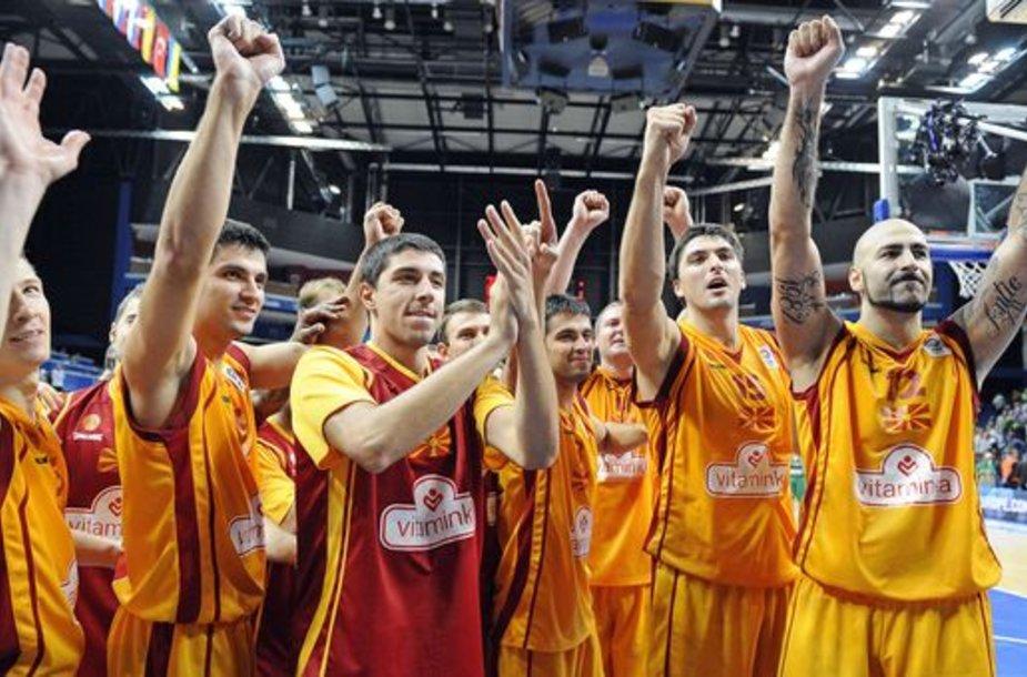 Makedonijos krepšinio rinktinė