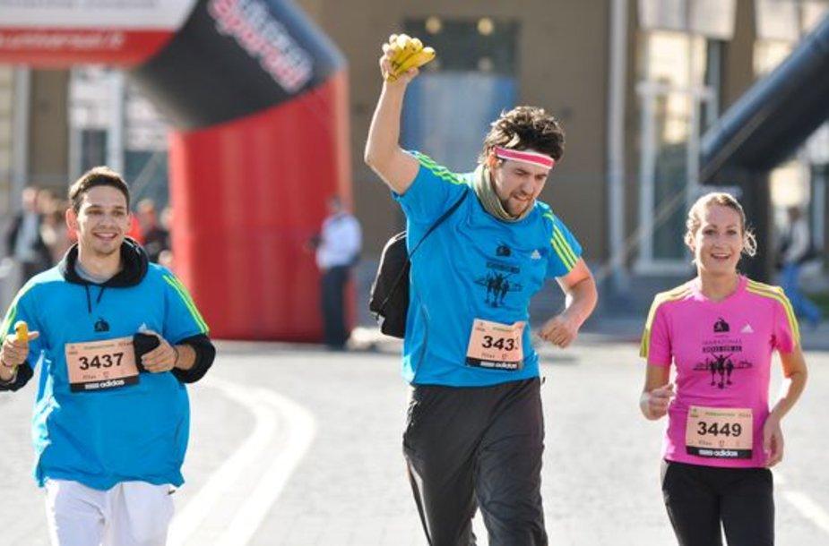 Maratono akimirka