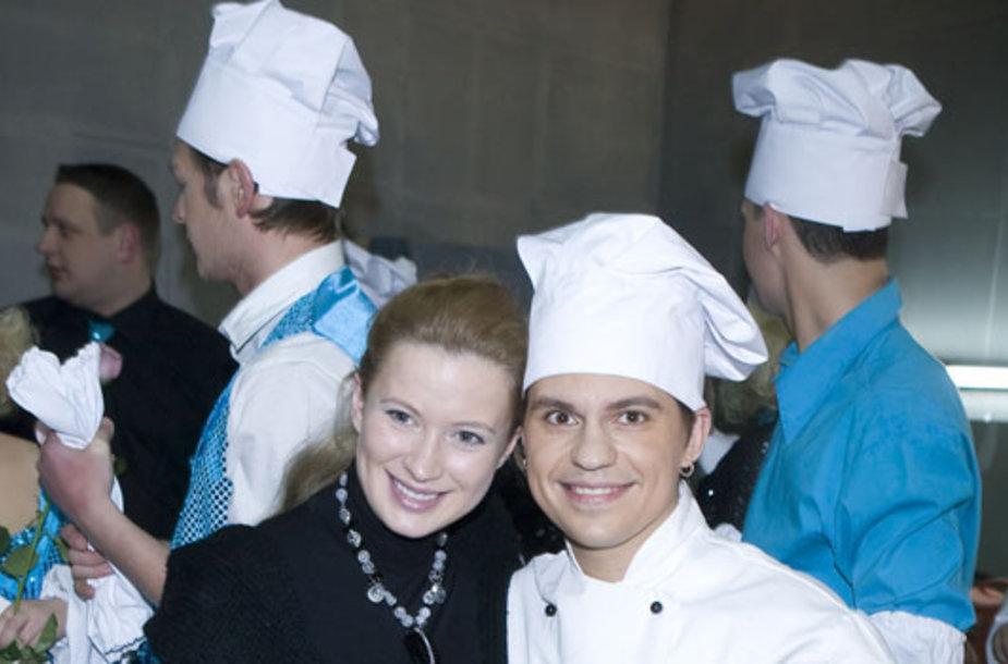 Deividas Norvilas-Deivis ir Renata Voitechovskaja