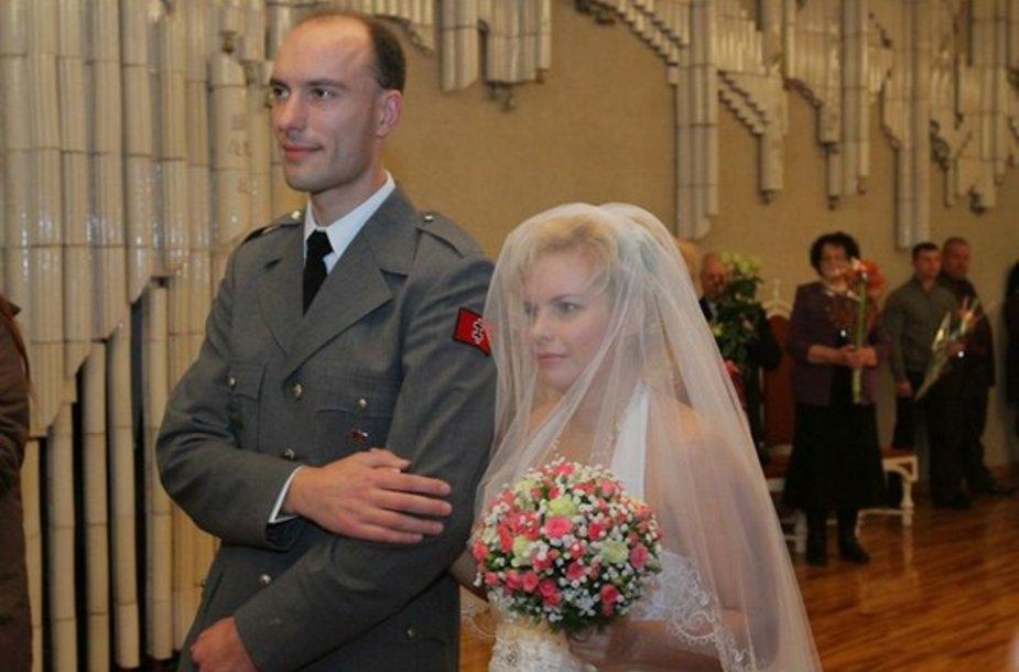 Mindaugas Murza ir jo išrinktoji Zlata Rapova