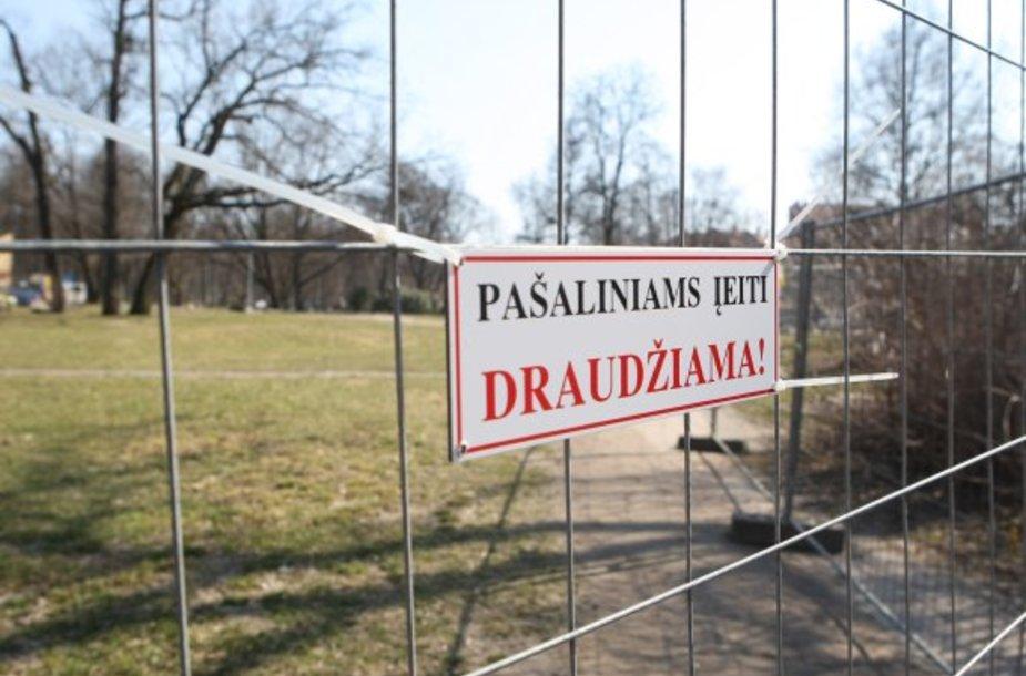 Uždarytas Bernardinų sodas