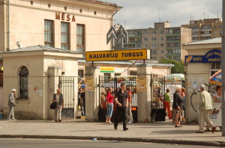 Vilniaus miesto taryba šį trečiadienį turėtų apsispręsti dėl Kalvarijų turgaus ateities.