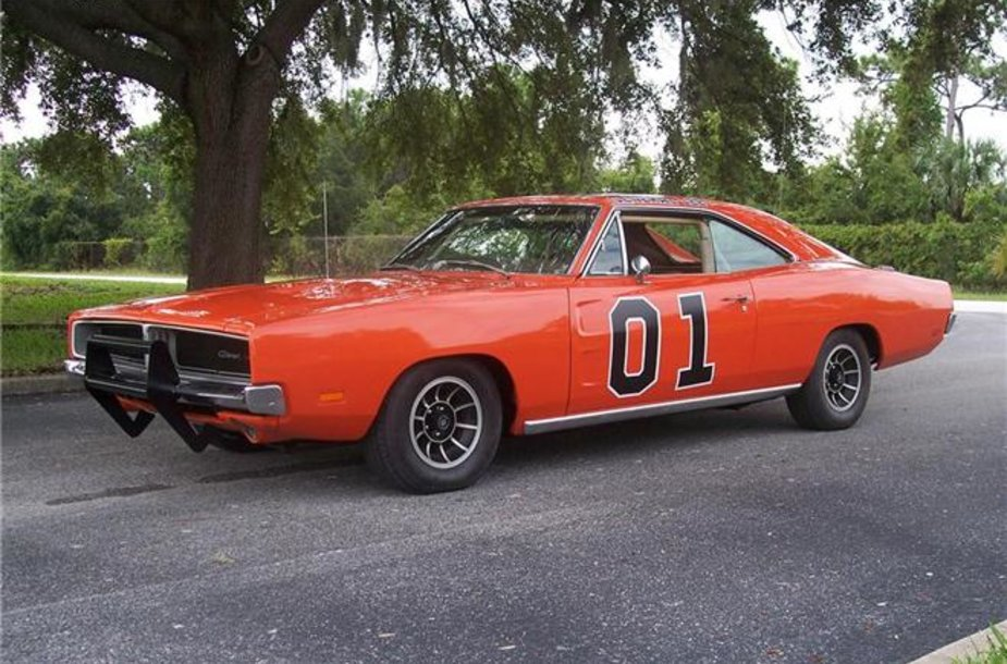 """1969 m. """"Dodge Charger"""" iš serialo """"The Dukes of Hazzard"""""""