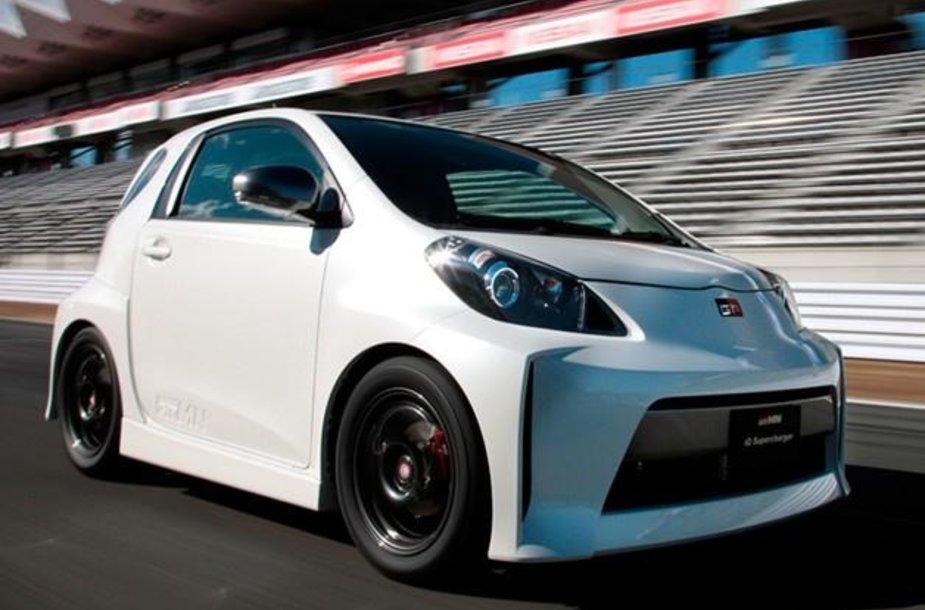 """Toyota iQ Supercharger"""