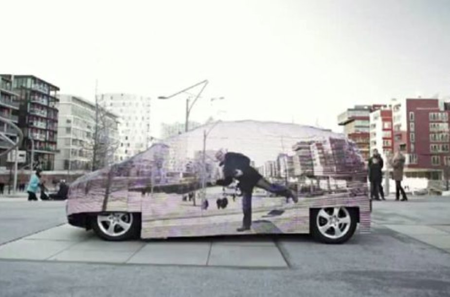 "Nematomas ""Mercedes Benz F-Cell"""