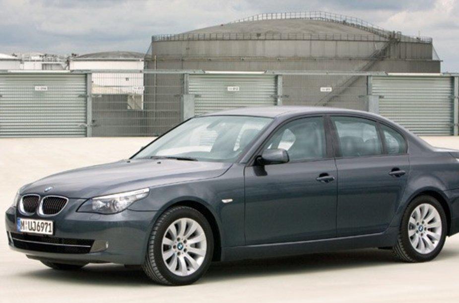 2008 m. BMW 5 serijos sedanas