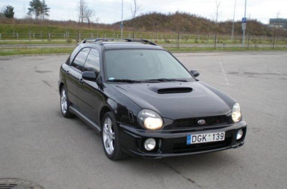 """2002 metų """"Subaru Impreza WRX"""""""