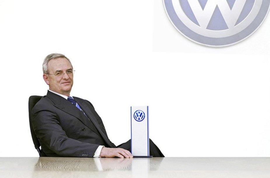 """""""Volkswagen"""" vadovu iki 2016 metų lieka Dr. Martinas Winterkornas"""