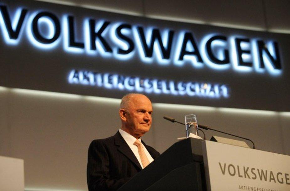 VW vadovas Ferdinandas Piechas