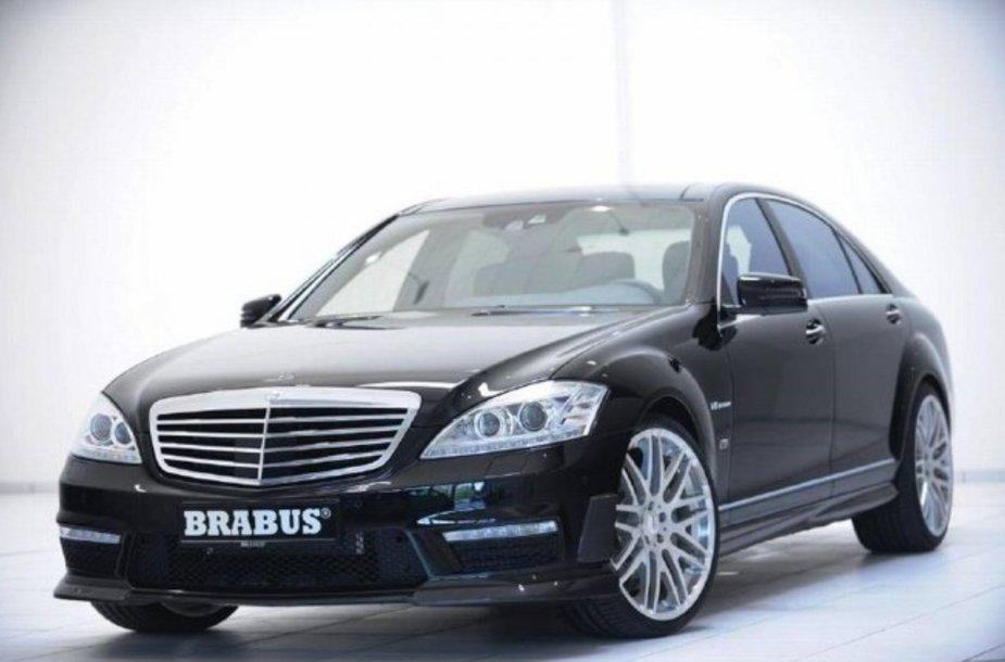 """""""Brabus Power Xtra CGI"""" galios paketas """"Mercedes-Benz"""" S ir CL klasės modeliams"""