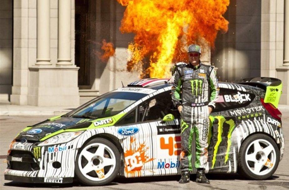 """""""Ford Fiesta Hybrid Function Hoon Vehicle"""""""
