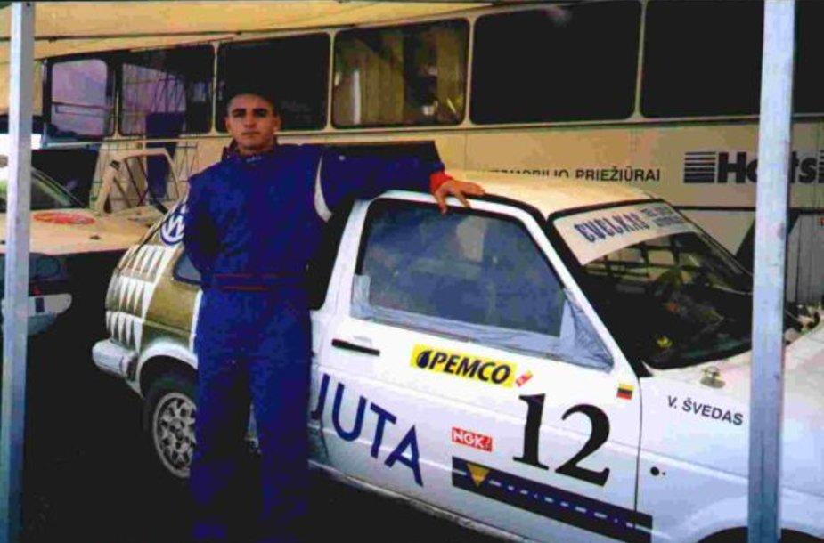 Vytautas Švedas prieš pirmasias lenktynes