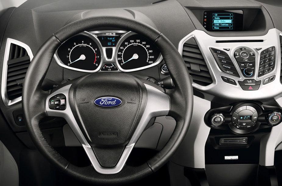 """Ford EcoSport"" miesto visureigis"