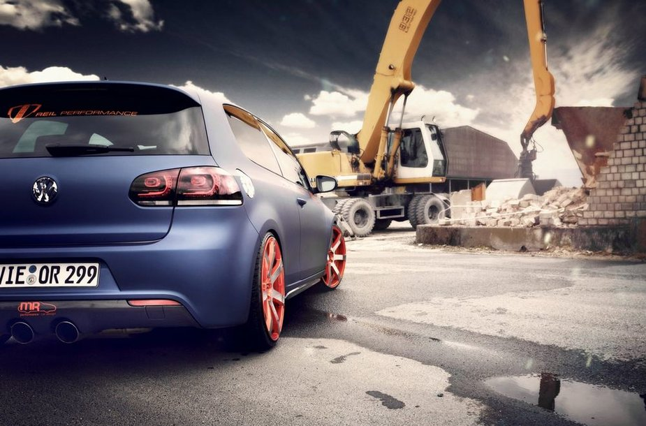 """BBM Motorsport"" patobulintas ""Volkswagen Golf GTI"""