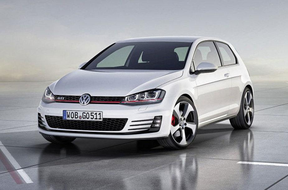 """Paryžius 2012. Septintos kartos """"Volkswagen Golf GTI"""""""