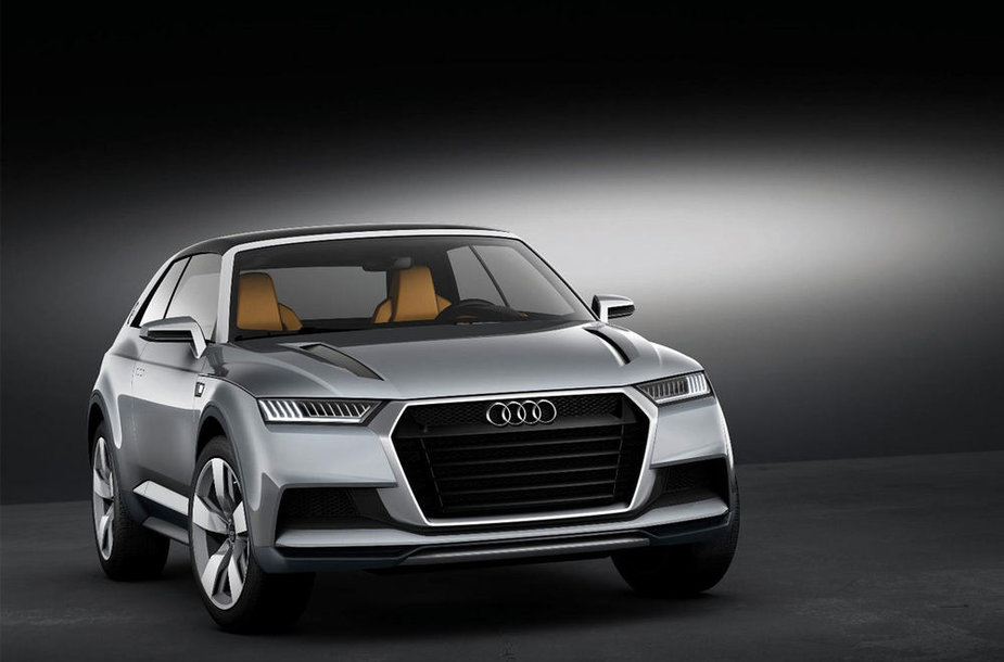 """Audi Crosslane Coupe Concept"""