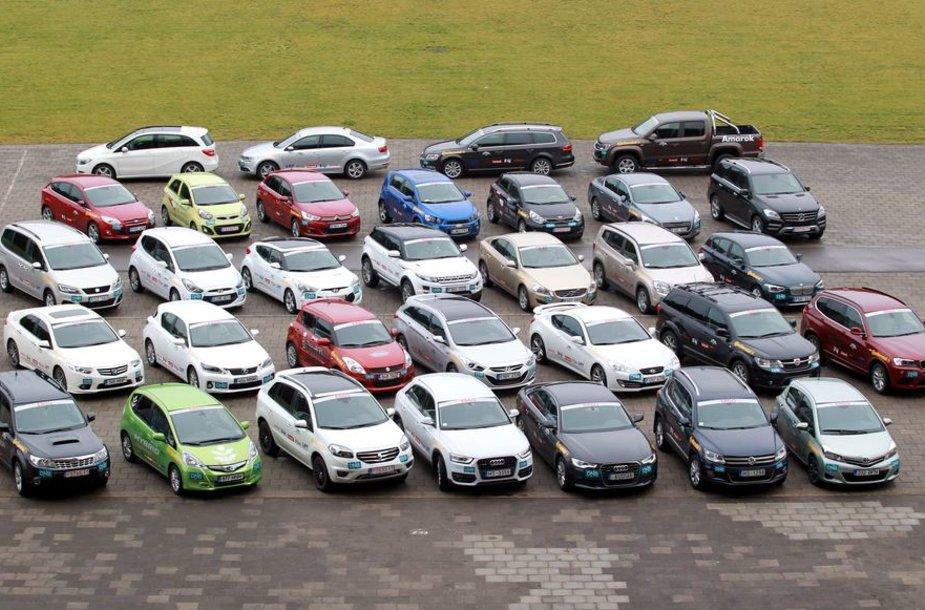 """2012-ųjų """"Lietuvos metų automobilio"""" rinkimai"""