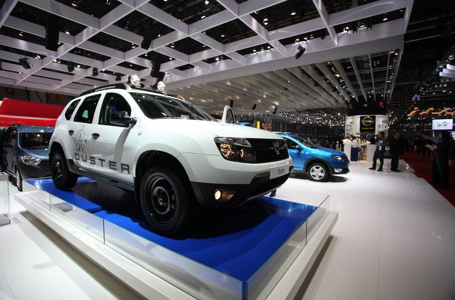 """Dacia Duster"" Ženevos parodoje"
