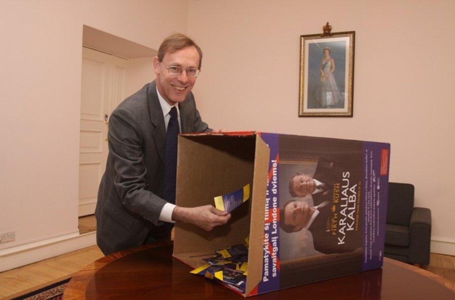Jungtinės Karalystės ambasadorius Lietuvoje Simon Butt