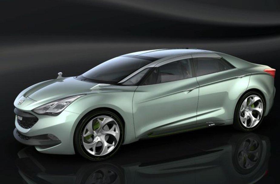 """""""Hyundai i-Flow"""" koncepcija – dyzelinis hibridas"""